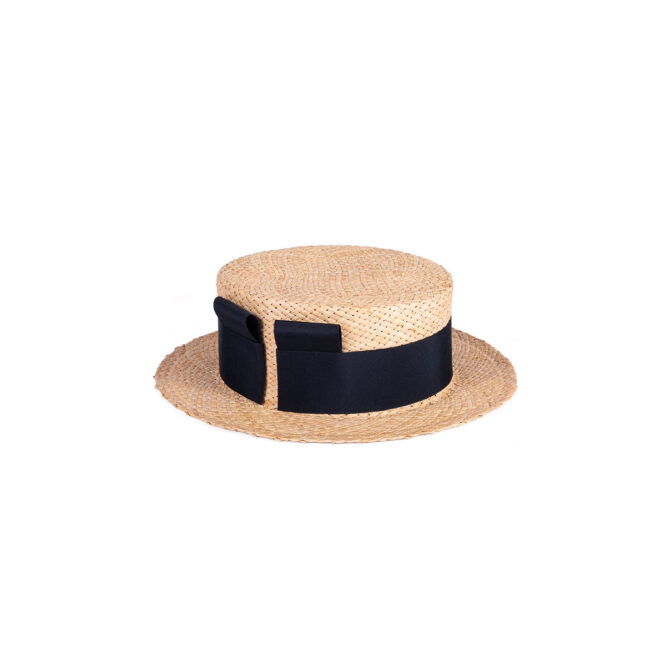 Sibi Hats - SHORT MOUNTAIN STRAW BOATER HAT