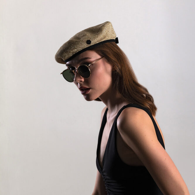 CHAIN EFFECT FRENCH BERET