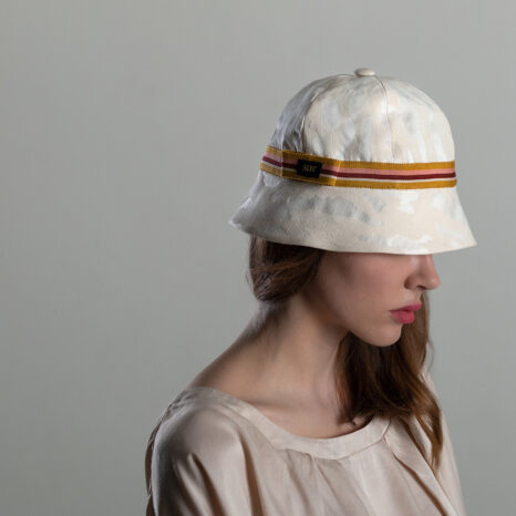 SUMMER IVORY BUCKET HAT